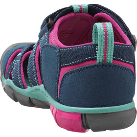 Keen Seacamp II CNX Sandals Children Poseidon/Very Berry